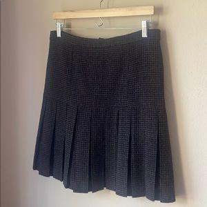 Chanel pleated mini skirt